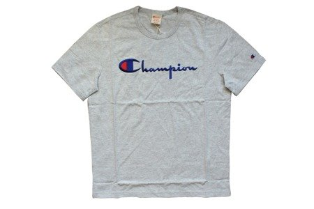 Champion Koszulka Reverse Weave Big Logo T-Shirt Grey Heather - FW18