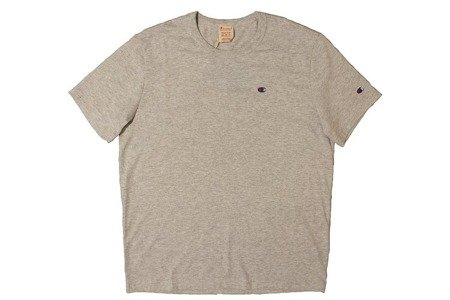 Champion Koszulka Reverse Weave Small Logo T-Shirt Grey Heather