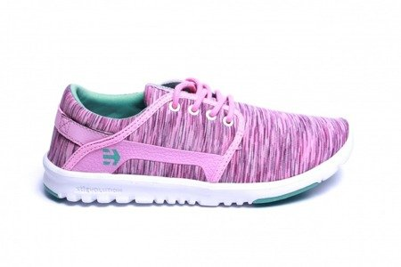 ETNIES Buty Scout WMNS Pink/White
