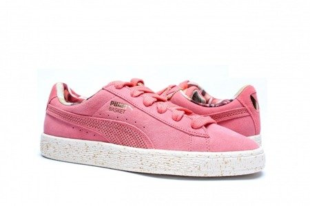 PUMA Buty Basket x Careaux Porcelain Rose/Whiper White