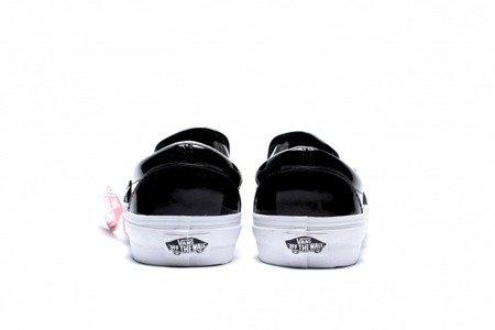 VANS Buty Classic Slip-On (Tumble Patent) Black