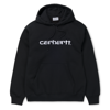 Carhartt Bluza Hooded Carhartt Sweatshirt Black/White - FW18